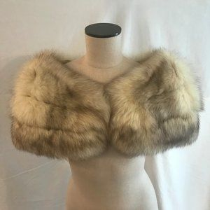 Vintage Gimbals Salon Fox Fur Stole